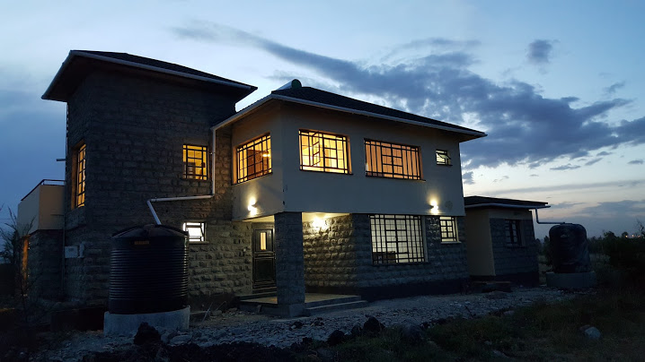 Back View- Rongai House, Designed and Built by Ujenzibora.