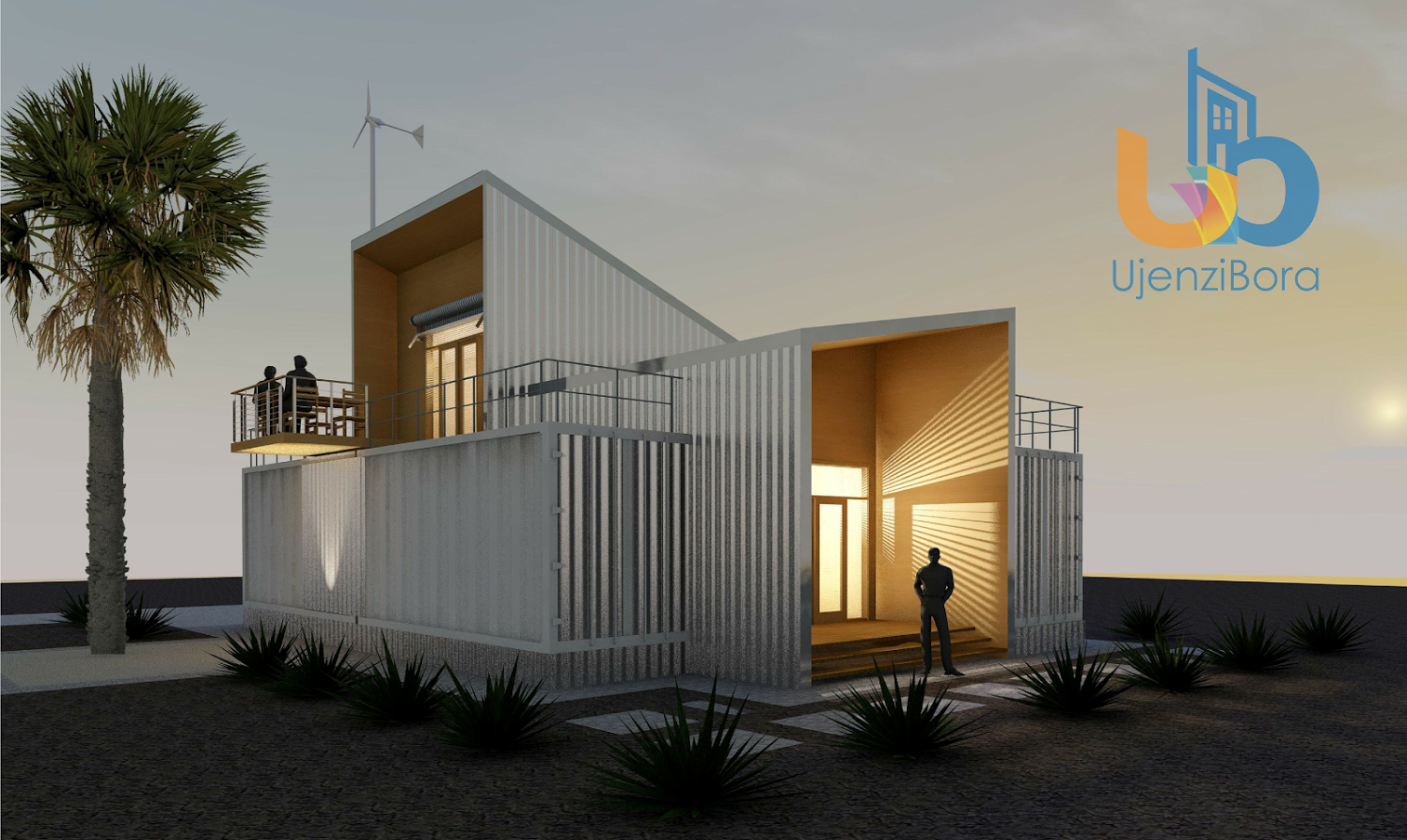 4 Bedroom Shipping Container House 140 Square Metres Ujenzibora